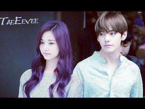 TaeTzu is real│ BTS V ♡ TWICE Tzuyu  Moments  Part7│태쯔 둘이 잘 어울린다!