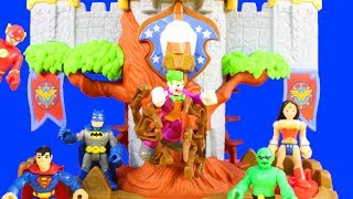 Imaginext Justice League Batman Defends Wonder Woman Themyscira Island Playset And Shield