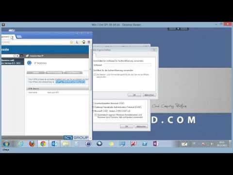 ICT-Cloud.com Setup und Konfiguration VPN Road Warrior (Client-to-Gateway)