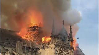 Celebrities React to Heartbreaking Fire at Notre Dame Cathedral in Paris