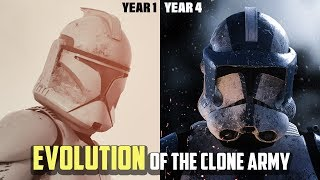 Evolution of the Republic Military during the Clone Wars
