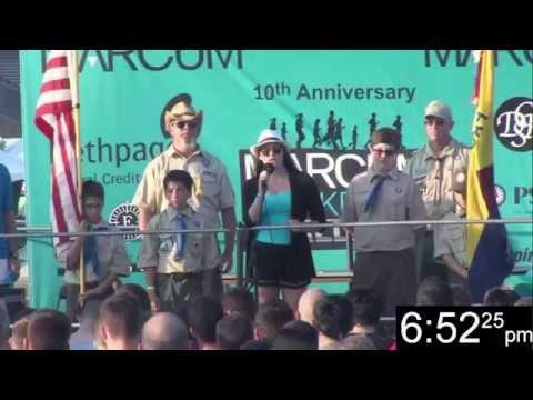 2015 Marcum Workplace Challenge - National Anthem