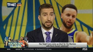 FIRST THINGS FIRST | Has Steph Curry come up short for the Warriors with Kevin Durant sidelined?
