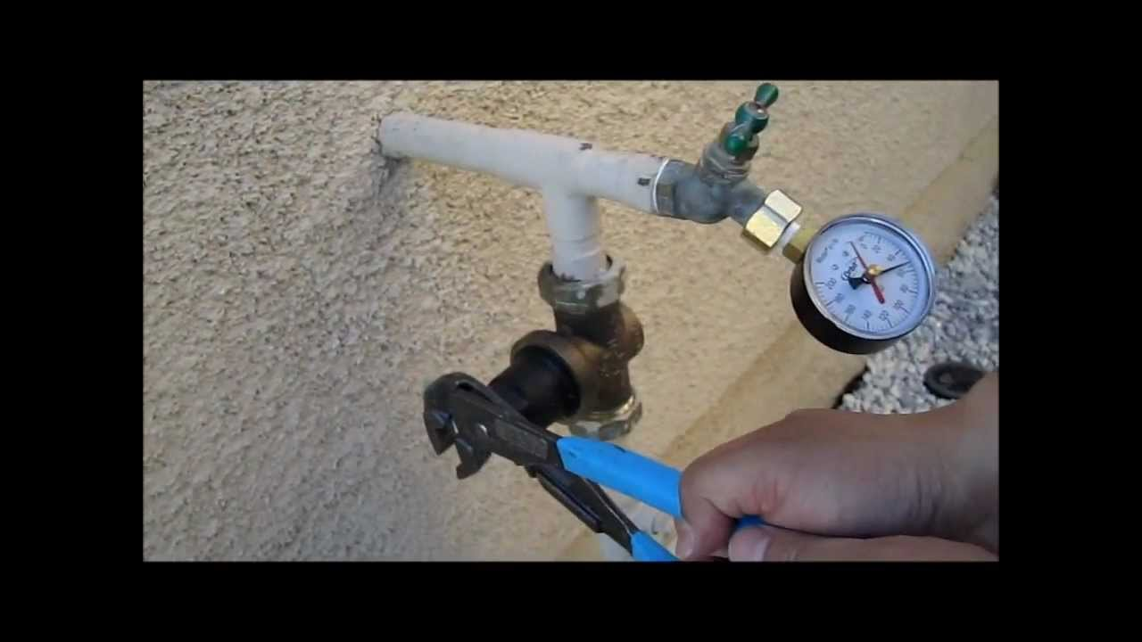 How To Measure And Adjust Water Pressure For The Home