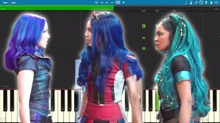 Descendants 3 - Night Falls - Piano Tutorial
