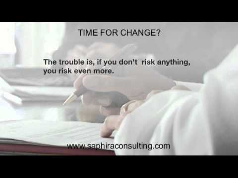 Saphira Consulting - Time for Change II