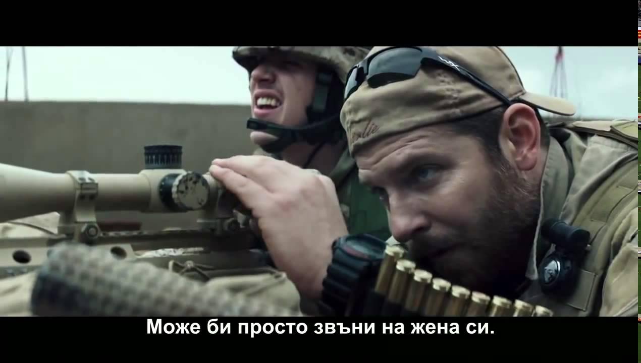 Американски снайперист (2014) Трейлър