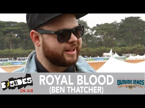 B-Sides On-Air: Interview - Ben Thatcher of Royal Blood at Outside Lands 2017