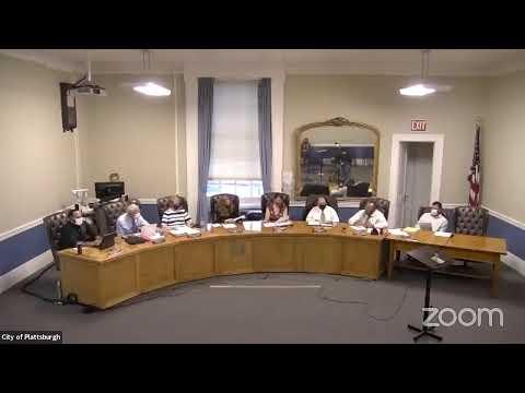 Plattsburgh Common Council Meeting  8-19-21
