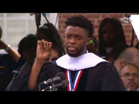 Chadwick Boseman's Howard University Commencement Speech