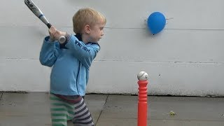 Balloon Popping Trick Shots | That's Amazing