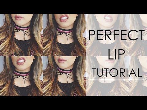 Perfect Lip Tutorial
