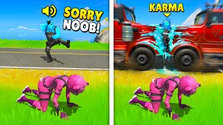TOP 100 INSTANT KARMA MOMENTS IN FORTNITE (Part 2)