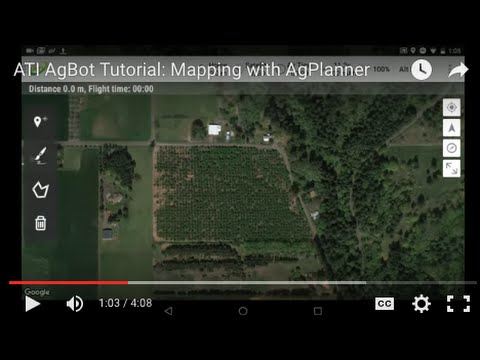 ATI AgBot Tutorial: Mapping with AgPlanner