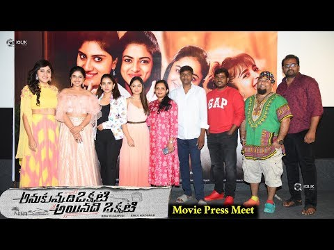 Anukunnadi Okati Ayinadi Okati Press Meet