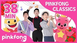 Classical Music in Baby Shark Songs and more | +Compilation | Pinkfong Classical Music for Children