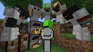 Minecraft Speedrunner VS 5 Hunters