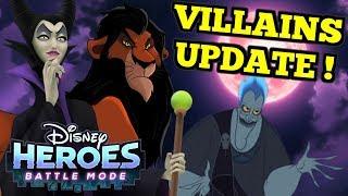 SCAR! HADES! MALEFICENT!!! - Disney Heroes: Battle Mode