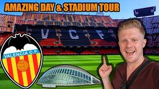 VALENCIA MESTALLA FOREVER STADIUM TOUR & Valencia Travel Guide - Stadium Tour #5 Vlog!