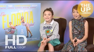 Brooklynn Prince and Valeria Cotto interview on The Florida Project
