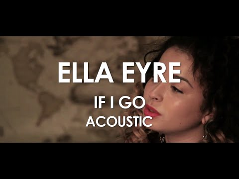 Ella Eyre - If I Go - Acoustic [ Live in Paris ]