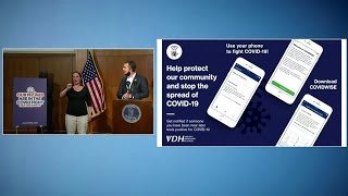 Virginia launches first contact tracing app in U.S.