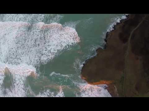 Cornwall: Fly over the sea and chase waves into the sunset