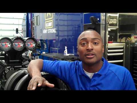 Antron Brown offer for the 2010 Mopar Mile-High NHRA Nationals