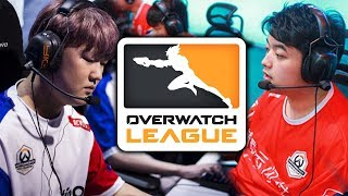 BEST OVERWATCH LEAGUE MOMENTS ►Week 1 Highlights Montage