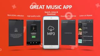 Free Music Downloader App for Android mobile phone and tablet