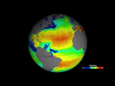 Sea Surface Salinity (Dec. 2011 - Dec. 2012)