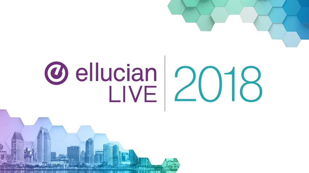 Ellucian Live 2019 | April 7-10 | New Orleans