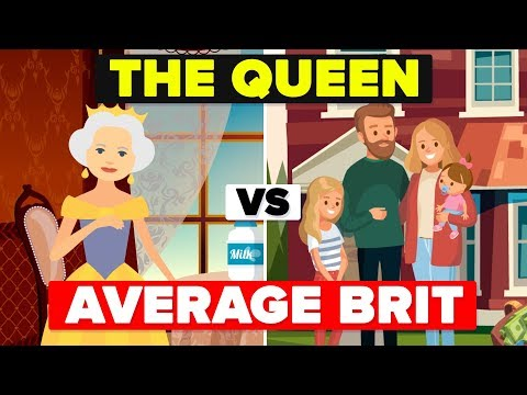 What Does The Queens Day Look Like And How Does She Compare To An Average British Person?