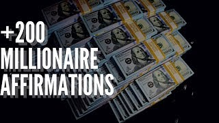+200 Millionaire Affirmations in 432hz! ~(Listen For 21 Days!) What I used!