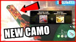 WW2 DLC CAMO coming to Zombies! How To Unlock Secret New WW2 Zombies Camo (WW2 Zombies DLC Weapons)