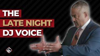 "Smooth!  The ""Late-night FM DJ"" Voice. FBI Negotiator Chris Voss Introduces Derek Gaunt"