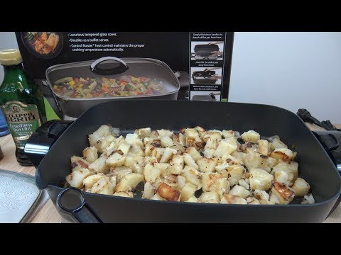 video Presto 16-inch Electric Foldaway Skillet Full Review ❤️ and Price