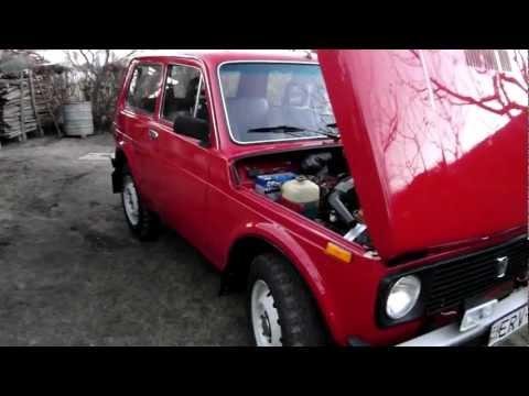 Lada Niva after the rebuild. / Niva 1600 újjászületése.