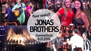 FLOOR SEATS FOR THE JONAS BROTHERS | Mohegan Sun 8-21-2019