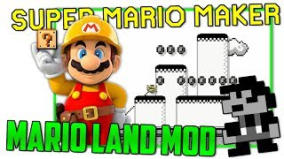 Super Mario Land - Super Mario Maker Mod