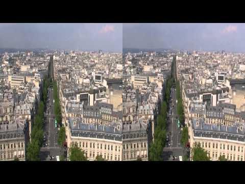 Paris, Arc De Triomphe 3D HSBS