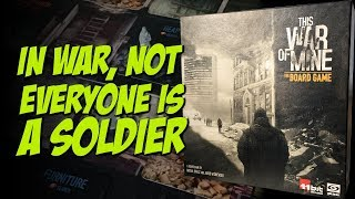 The War of Mine - The Board Game | Galakta Games | Unboixing