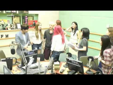130729 f(x) Group Photo + Leaving Super Junior Ryeowook KTR