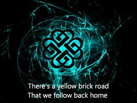 Home by Breaking Benjamin with lyrics on screen