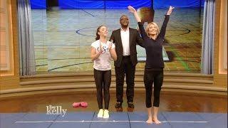 Aly Raisman Gymnastics Lesson
