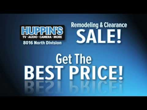 Huppin's Remodeling & Clearance Sale