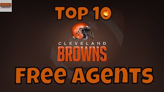 10 Free Agents the Cleveland Browns Should Sign this Off-season.