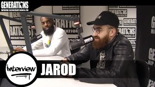 Jarod - Interview (Live des studios de Generations)