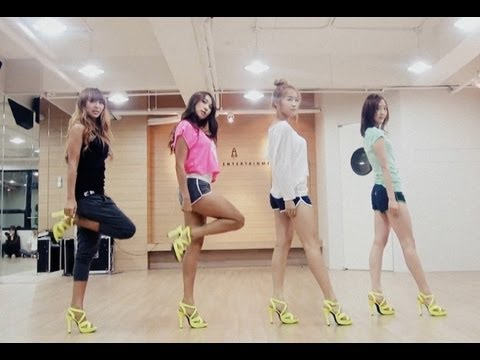 SISTAR_Loving U_Choreography Practice ver.(안무연습)