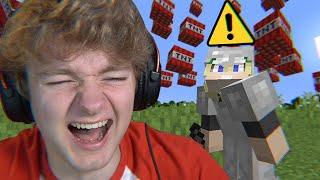 Minecraft's TNT Rain Mod is actually funny...